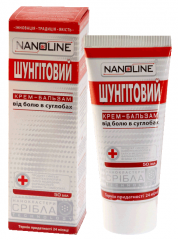 NanoLine Shungitovy balm from pains in joints