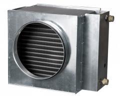 Water air heaters