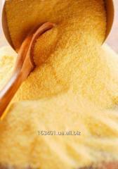 Крупы кукурузные мелкого помола (манка кукурузная)