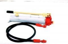Насос гидравлический двух плунжерный ручной НГР-63