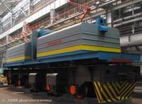 Вагонотолкатель типа ВТ-4Л для надвига груженых полувагонов в вагоноопрокидыватели типа ВРС и ВБС и др. маневровых работ, пр-во Днепротяжмаш, Украина