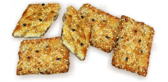 Cookies puff BAUME-B_K Rodzinca with sesame and