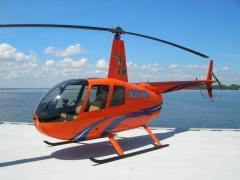 Аренда вертолета Киев, прокат вертолетов Robinson R44