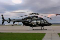 Lease of the Bell 407 helicopter. To order charter