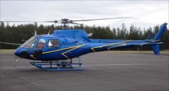 Аренда вертолета Eurocopter AS350 Ecureuil. Заказать чартер