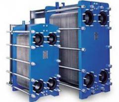Folding lamellar heat exchangers on the basis of