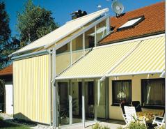 Тенты коттеджные Маркиза, системы защиты от солнца