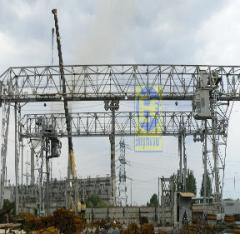 Production and installation of cranes goat in