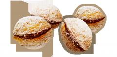 Butter biscuits BOM-BIK Gor_shok with condensed