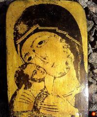Икона Божией Матери Игоревская, под старину