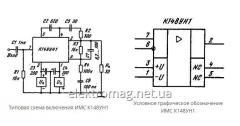 Микросхема К153УД101А — операционные усилители