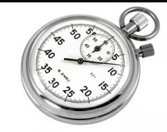 Stop watches 2kh push-button SOSPR