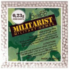 Шарики для страйкбола Militarist 0.23