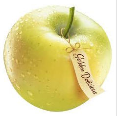 Apples Golden Delishes from the producer.