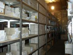 Warehouse racks in assortment under any weight.
