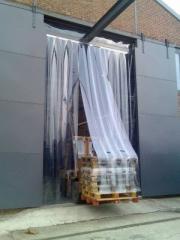 Термозавесы ПВХ. Ленточные шторы.