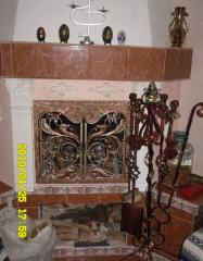 Изделия кованые, ковка художественная, камины