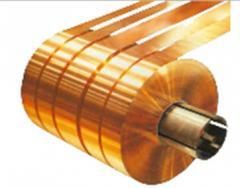 Strip brass, strip brass L63, L68, L90, LO90,