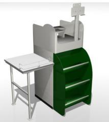 Express cash desk of EK1