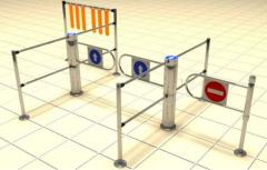 Entrance systems for trading floors