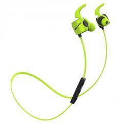 Беспроводные наушники Bluedio TE Sport Green с