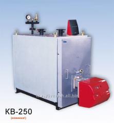 Котел водонагревательный КВ-250 трехходовой,