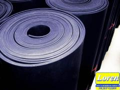 Rubber of technical 10 mm