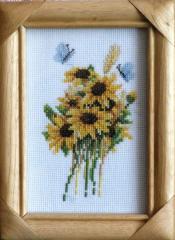 Sunflowers (miniature)