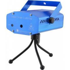 Лазерный проектор, стробоскоп, диско лазер UKC
