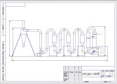Hothouse SA-4 unit (4 boilers) of 1000-1500 kg/h