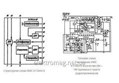 Микросхема К174ХА10 — многофункциональная