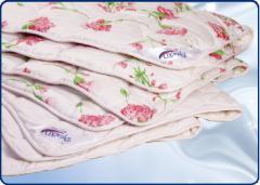 Одеяла шерстяные. Изделия с шерстяным наполнителем
