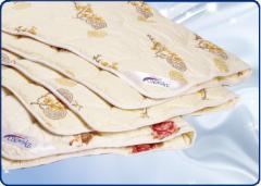 Одеяла для гостиниц. Изделия с шерстяным