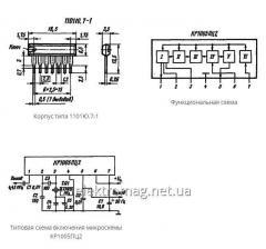 Микросхема КР1005ПЦ2 — формирователь опорной