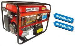 Мобільний бензогенератор GP4000L-GEE Генератори