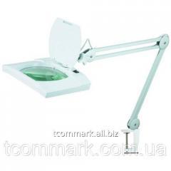 Лупа-лампа на струбцине 8069, светодиодная