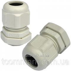 Пластиковый кабельный ввод, диам.-6-12мм, PG-13,5