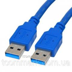 Шнур USB, штекер А - штекер А, Vers. 3.0,