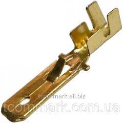 Кабельная клемма ножевая не изолированная (штекер)