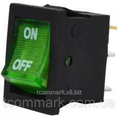 Переключатель с подсветкой MIRS-101-2 ON-OFF, 3-х