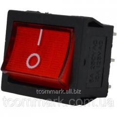 Переключатель широкий с подсветкой MIRS-202-4