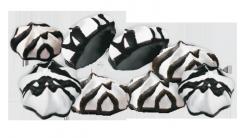 Krapelk BAUME-B_K meringue glazed, the Meringue in