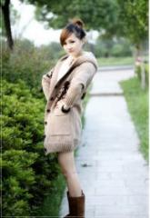 Вязанное пальто с Мики Маусом Код 42866717
