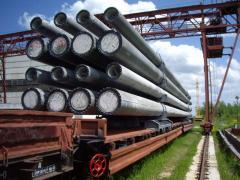 Las columnas de hormigón armado, el precio,