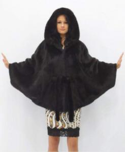 Coat from a mink.