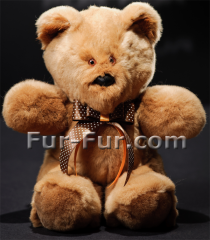 Toys are decorative. A bear from fur of a mink of