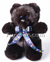 Soft toys. A bear from a mink of Louis (Louis), 18