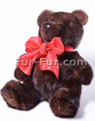 Corporate soft toys. Mishka Charles (Karl), 27 cm.
