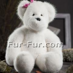 Gifts for children. A bear from a mink of