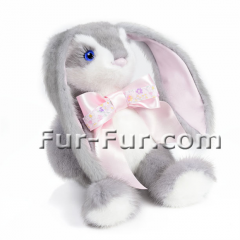 Soft souvenir toys. Hare of Blue, 22 cm